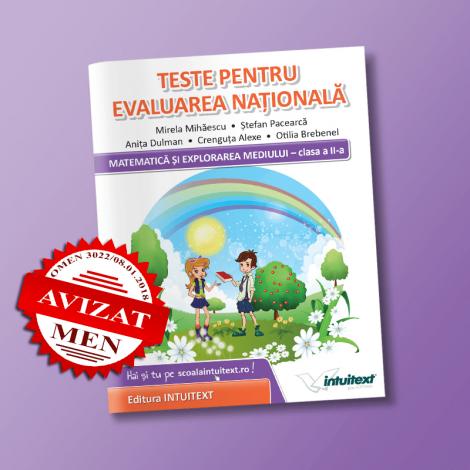 Teste de matematica pentru Evaluarea Nationala de clasa a 2-a | Editura Intuitext