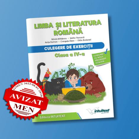Limba și literatura română - Culegere de exerciţii pentru clasa a IV‑a