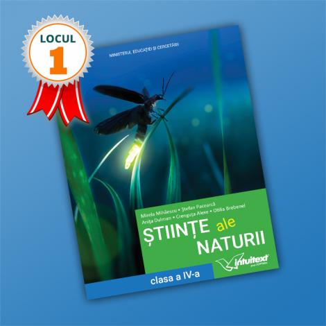 Științe ale naturii - Manual pentru clasa a IV-a 2021 (LOCUL I LA CALITATE!)