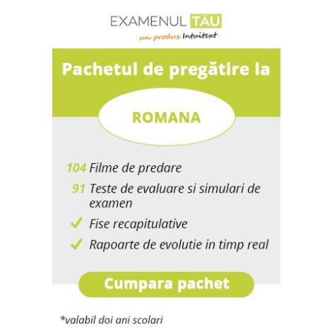 ExamenulTau.ro - Licenţă Română -  2 ani