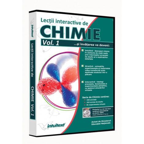Chimie liceu Vol. I - Lecţii interactive de chimie