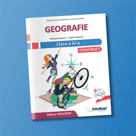 Geografie - Manual pentru clasa a IV-a, Semestrul I