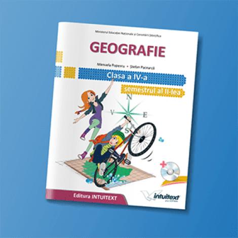 Geografie - Manual pentru clasa a IV-a, Semestrul II