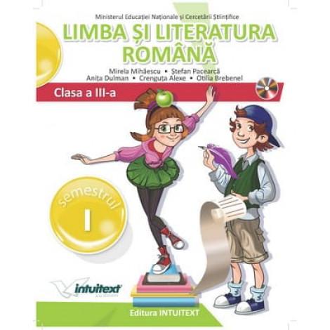 Limba și literatura română - Manual pentru clasa a III‑a, Semestrul I