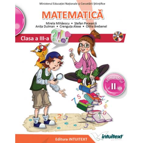 Matematică - Manual pentru clasa a III‑a, Semestrul II