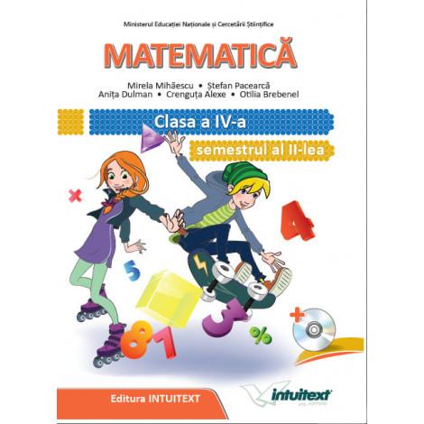 Matematică - Manual pentru clasa a IV‑a, semestrul II