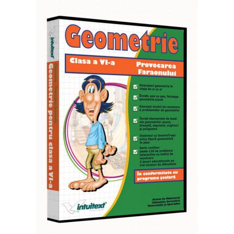 Matematică clasa a VI-a Vol.I - Provocarea Faraonului - Geometrie: între joc şi nota 10