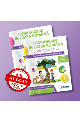 Comunicare în limba română - Caietul elevului pentru clasa a II-a