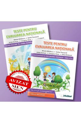 Teste de matematica si limba romana pentru Evaluarea Nationala de clasa a 2-a | Editura Intuitext