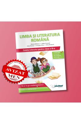 Limba și literatura română - Caietul elevului pentru clasa a III-a