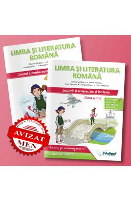 Set caiete Limba și Literatura Română și Lectură clasa a III-a