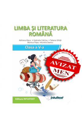 Limba şi literatura română - Caietul elevului pentru clasa a V‑a