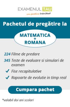 ExamenulTau.ro - Licenţă Română şi Matematică-  2 ani