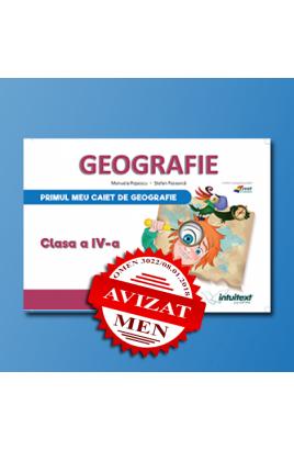 Caietul elevului pentru Geografie - Clasa a IV-a