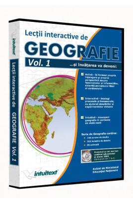Geografie liceu Vol. I - Lecţii interactive de geografie