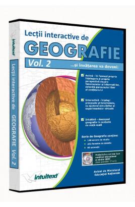 Geografie liceu Vol. II - Lecţii interactive de geografie