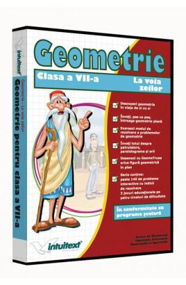 Matematică clasa a VII-a Vol.III - La voia zeilor - Geometrie: între joc şi nota 10