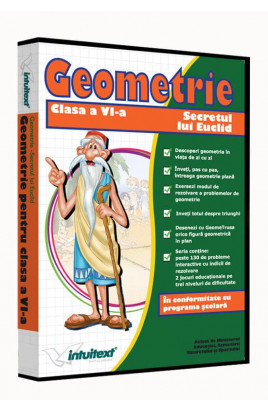 Matematică clasa a VI-a Vol.II - Secretul lui Euclid - Geometrie: între joc şi nota 10