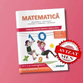 Matematică - Caietul elevului pentru clasa a III‑a