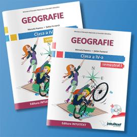 Geografie - Manual pentru clasa a IV-a NOU