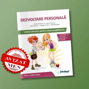 Caiet auxiliar dezvoltare personala clasa pregatitoare | Editura Intuitext