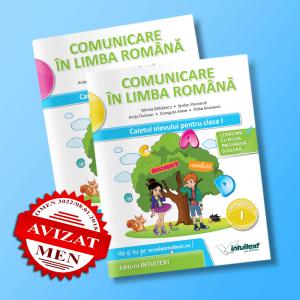 Comunicare în limba română - Caietul elevului pentru clasa I - potrivit manualului Intuitext