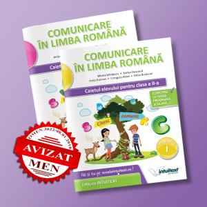 Comunicare în limba română - Caietul elevului pentru clasa a II-a - potrivit manualului Intuitext