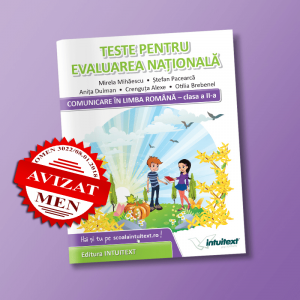 Teste de limba romana pentru Evaluarea Nationala de clasa a 2-a | Editura Intuitext