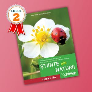 Științe ale naturii - Manual pentru clasa a III-a 2021 (LOCUL II LA CALITATE!)