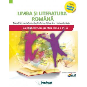 Caiet limba si literatura romana clasa a VII-a