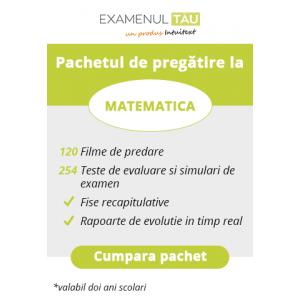ExamenulTau.ro - Licenţă Matematică -  2 ani