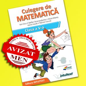 Culegere matematica clasa 5 | Editura Intuitext