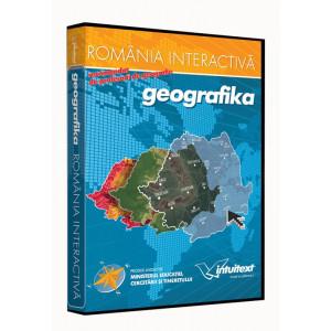 Geografie clasa a VIII-a - GEOGRAFIKA - România interactivă
