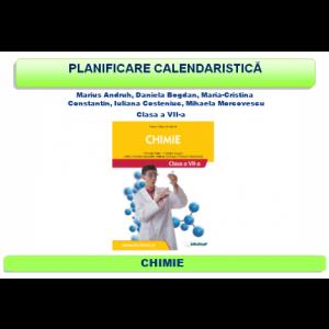 Planificare şi proiectare clasa a VII-a - Chimie