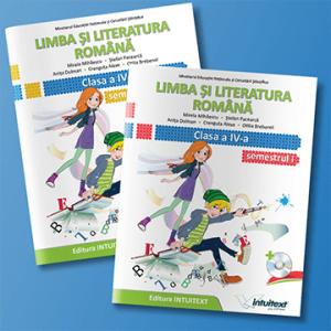 Limba și literatura română - Manual pentru clasa a IV‑a set NOU